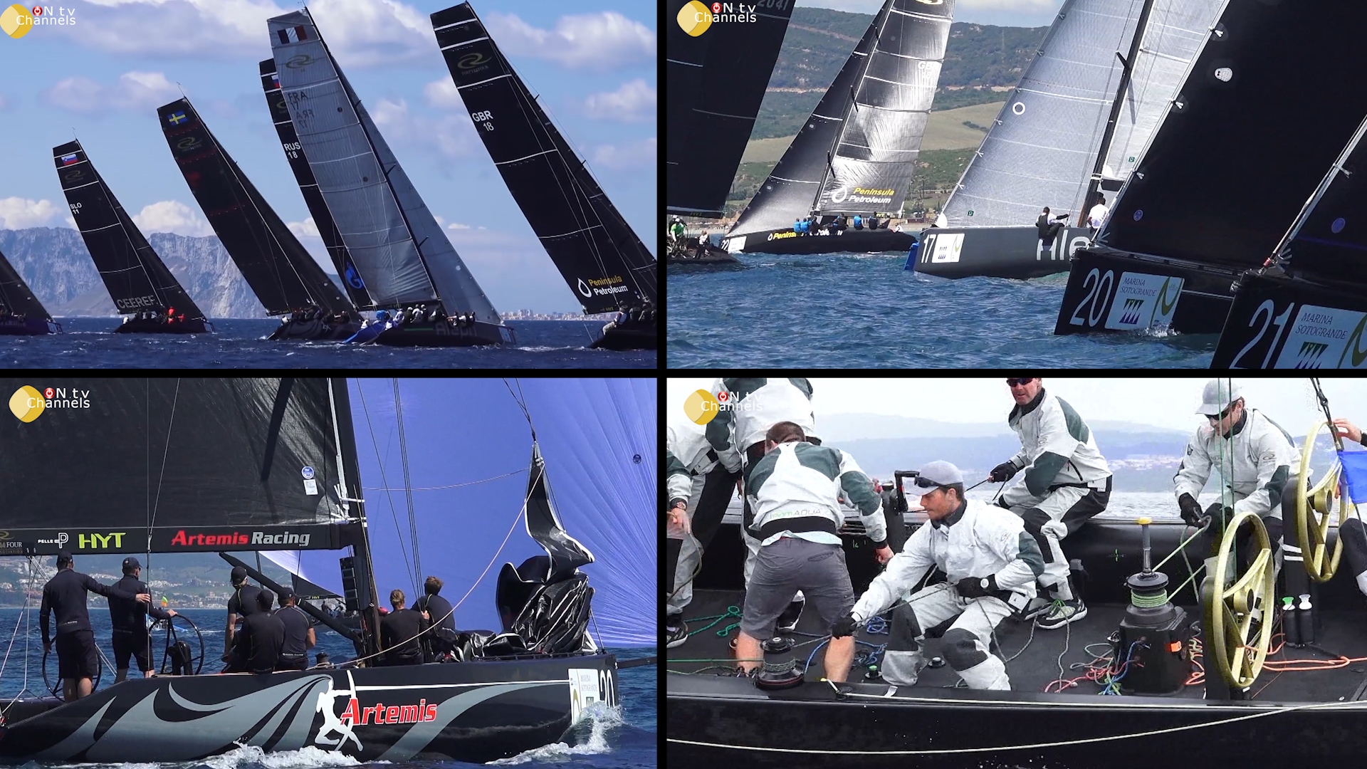 RC44 World Championship 2016 Sotogrande – Spain FULL EVENT OVERVIEW Sunday 15th May